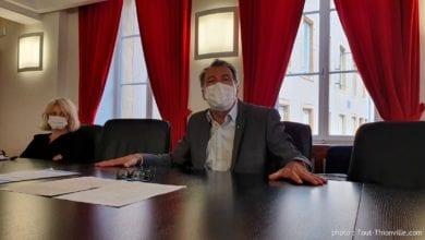 Photo de Thionville : distribution de masques, déconfinement et retour à l'école, Pierre CUNY fait le point