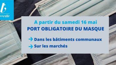 Photo de Thionville : port du masque obligatoire dans certaines zones